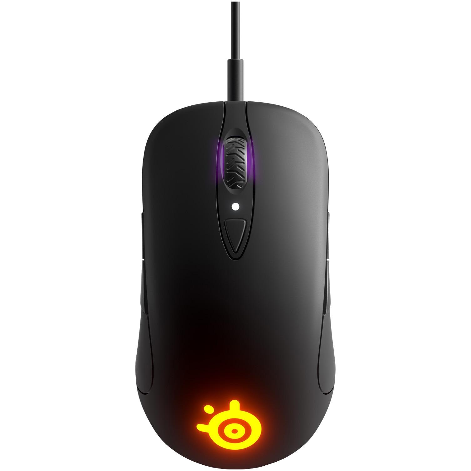 Fotografie Mouse gaming SteelSeries Sensei Ten, Negru