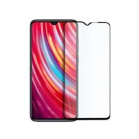 Иновативен стъклен протектор Full Glue за Xiaomi Redmi Note 8 Pro, Цялостно покритие и залепване, Tempered Glass, Черен