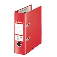 Biblioraft Esselte Standard A5, 75 mm, Vivida rosu, 10 buc/set