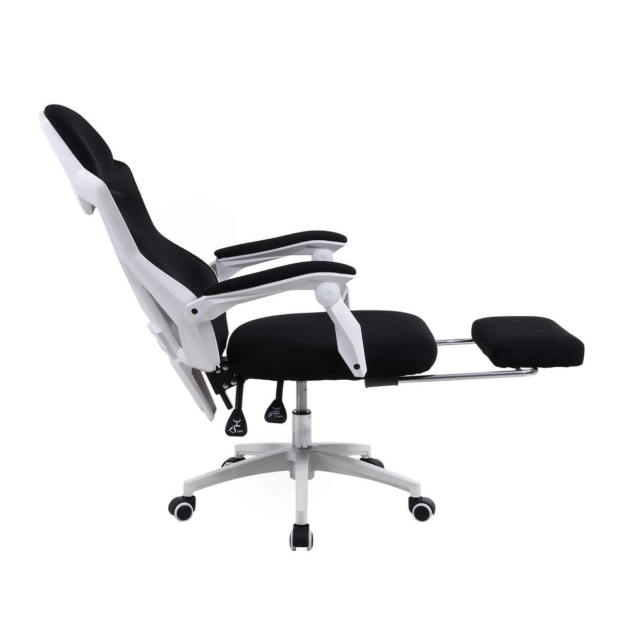 Zenga Extreme Infini Gamer szék, légáteresztő hálóval Fekete Fehér, Max. teherbírás: 120 kg