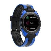 SoVogue Okosóra, kék, bluetooth 4.0, LCD érintőképernyő, 14 funkció, Android iOS