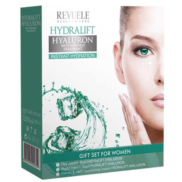 Revuele Hydralift Set (day cream,night cream,hand&nail cream)