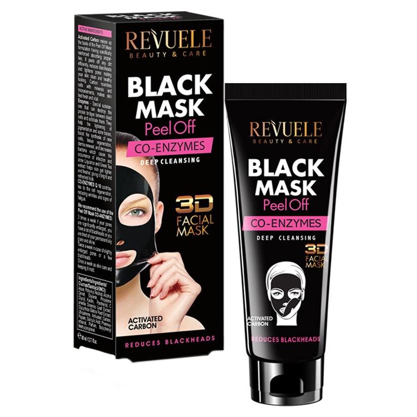 Revuele black mask peel off co-enzymes 80ml