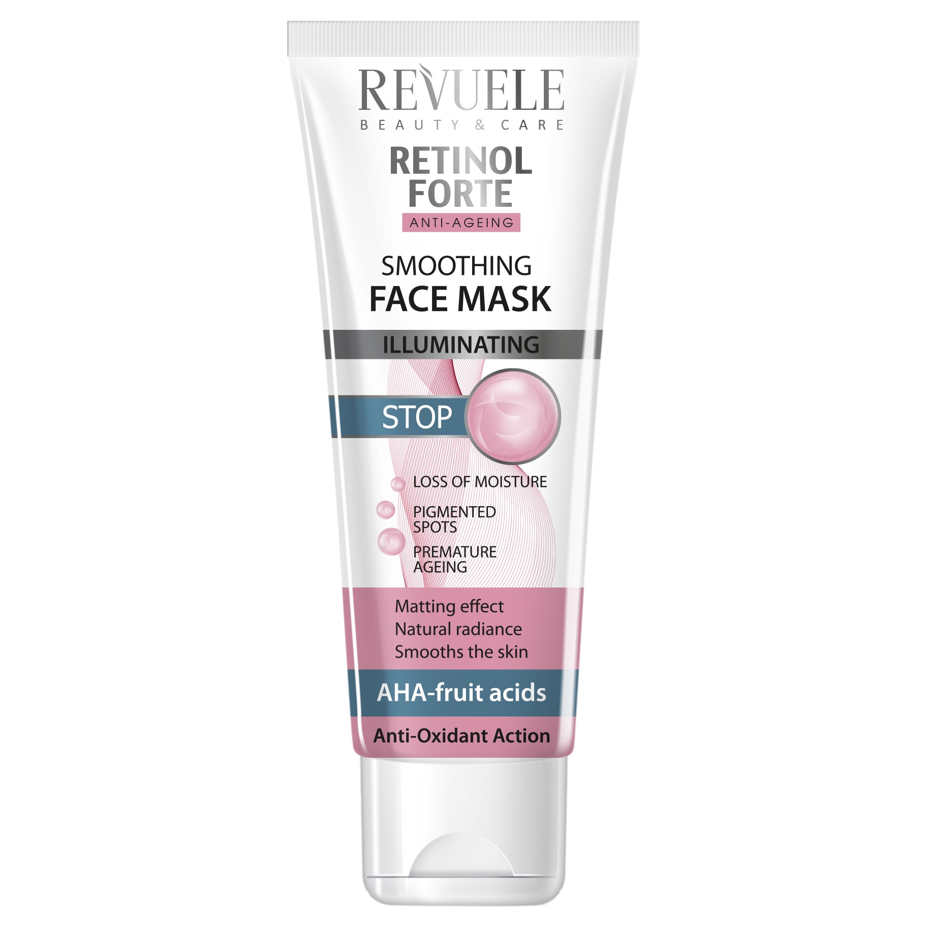Revuele retinol forte smoothing face mask 80ml