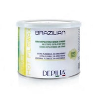 Ceara Epilat Elastica Brazilian, Depilia, Perla alba, Profesional, pentru pielea sensibila, 500 ml