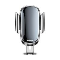 Baseus Future gravitációs autós telefontartó kerek szellőzőrácshoz - Ezüst