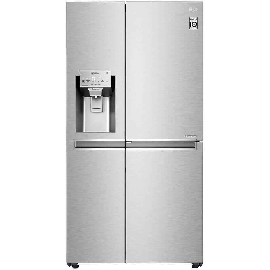 Fotografie Side by side LG GSJ961NSVZ Door in Door, 601 l, Clasa A++, No Frost, Compresor Inverter Linear, Door Cooling, Inox