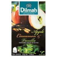 Dilmah Tea, Apple-Cinnamon-Vanilla, (Alma-Fahéj-Vanília), 30G