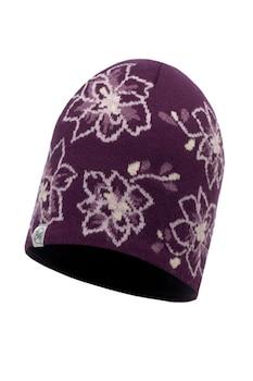 Стилна плетена шапка Buff, с поларена лента, Лого на марката, Многоцветен, One Size, 304148 2-29-92