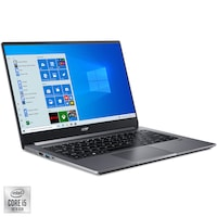 "Laptop ultraportabil Acer Swift 3 SF314-57-516Z cu procesor Intel® Core™ i5-1035G1 pana la 3.60 GHz Ice Lake, 14"", Full HD, 8GB, 512GB SSD, Intel UHD Graphics, Windows 10 Home, Steel Gray"