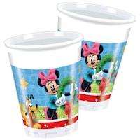 Disney Mickey Christmas Time Műanyag pohár 8 db-os 200 ml PNN86763
