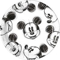 Disney Mickey Faces Papírtányér 25 db-os 23 cm PNN82738
