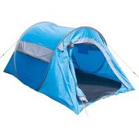 Highlander 2 fős turista sátor Pop Up Kék