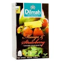Dilmah Tea,Mango-Strawberry, (Mangó-Eper), 30G
