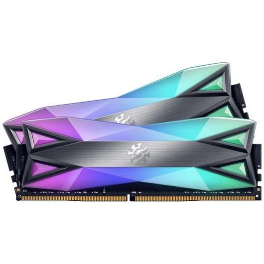 Fotografie Memorie ADATA XPG Sprectrix D60G RGB, 32GB (2x16GB), DDR4, 3000MHz, CL16