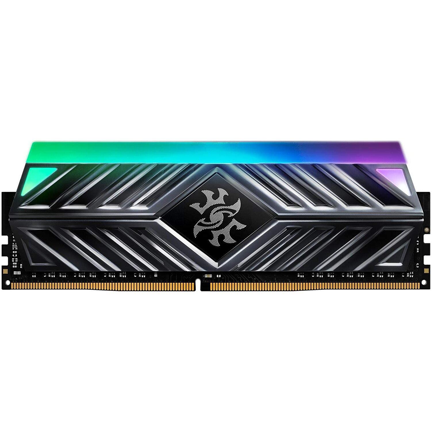 Fotografie Memorie ADATA XPG Spectrix D41 RGB, 16GB (2x8GB) DDR4, 3000 MHz, CL16
