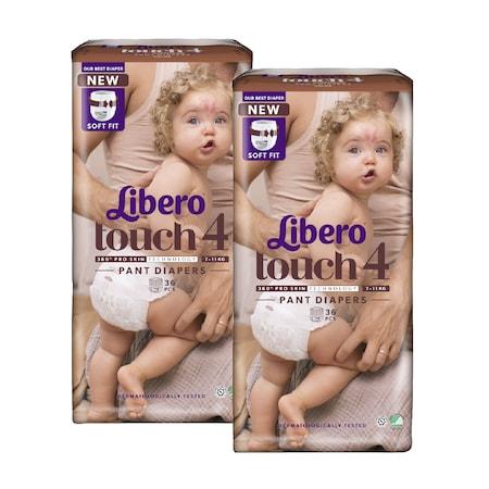 Libero Touch 4 bugyipelenka, 7-11 kg, 2x36 db
