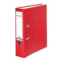 Biblioraft, Falken, PP exterior, carton interior, rosu, A4, 318 x 285 mm