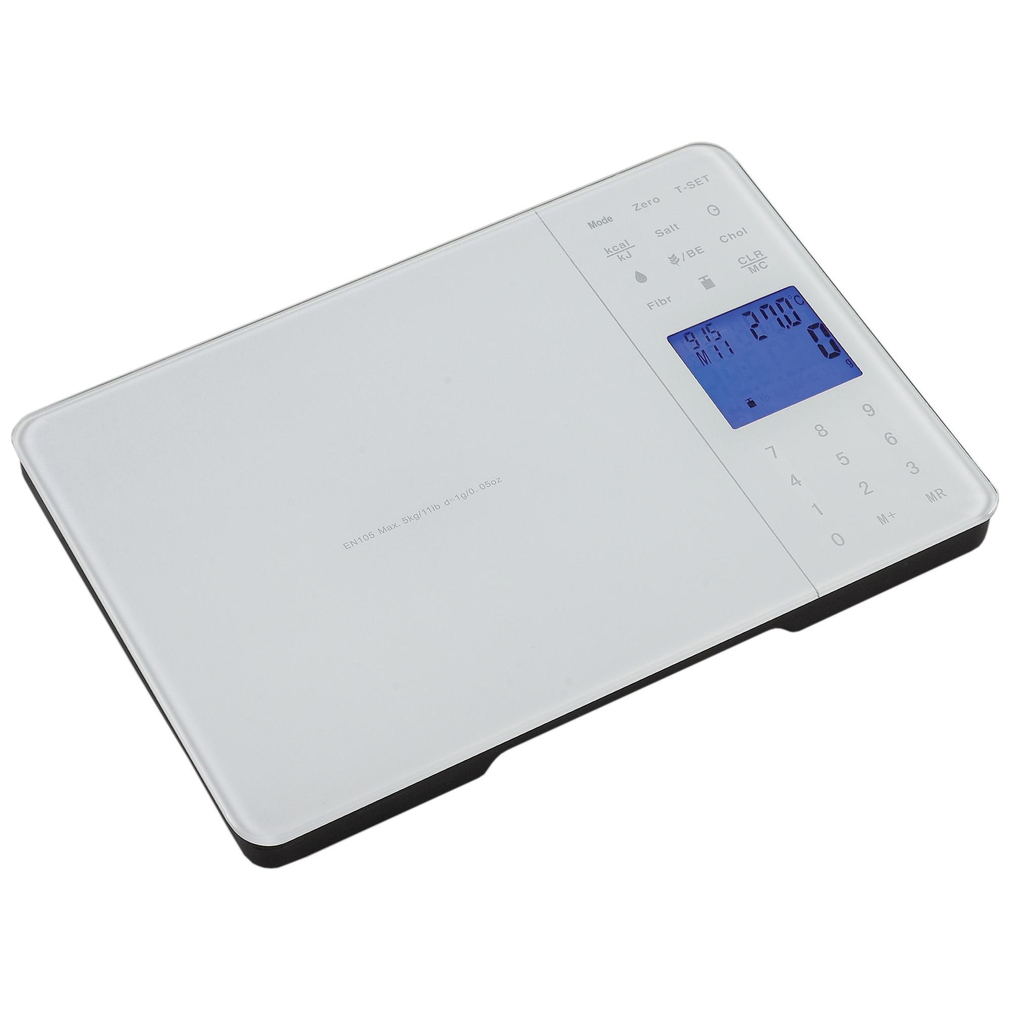Fotografie Cantar de bucatarie Star-Light Professional KSW-Pro1000, 5 kg, Alb