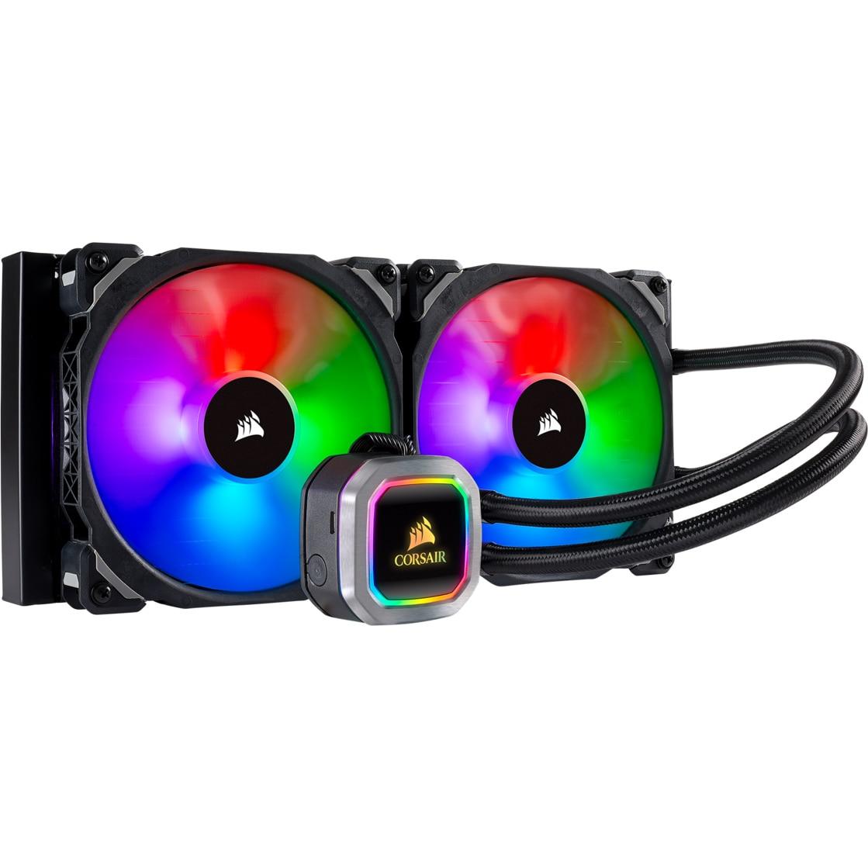 Fotografie Cooler procesor Corsair Hydro Series H115i RGB Platinum, compatibil AMD/Intel
