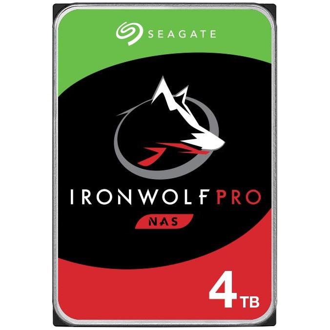 Fotografie HDD Seagate IronWolf Pro NAS 4TB, 7200rpm, 256MB cache, SATA-III