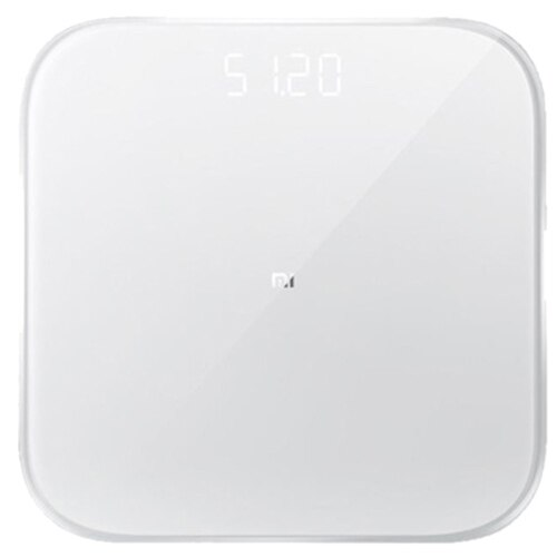 Fotografie Cantar inteligent Xiaomi Mi Smart Scale 2 NUN4008GL, 150 kg, Bluetooth, Sticla securizata, Alb