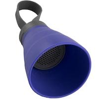 Boxa portabila Bluetooth YZSY Sali, USB, pliabila, rezistenta la apa, 8 x 10 cm, Albastru