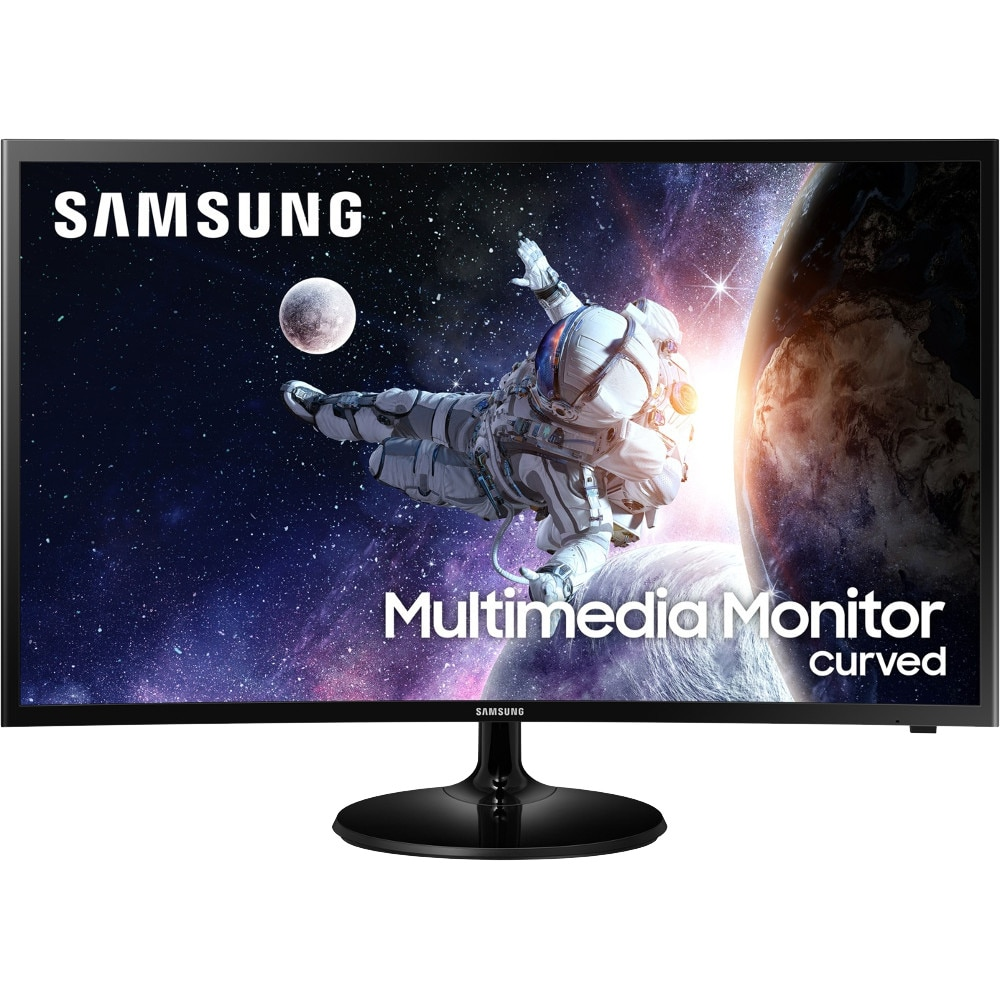 "Fotografie Monitor Curbat Gaming Multimedia LED VA Samsung 31.5"", Full HD, HDMI, Telecomanda, Negru, LC32F39MFUUXEN"