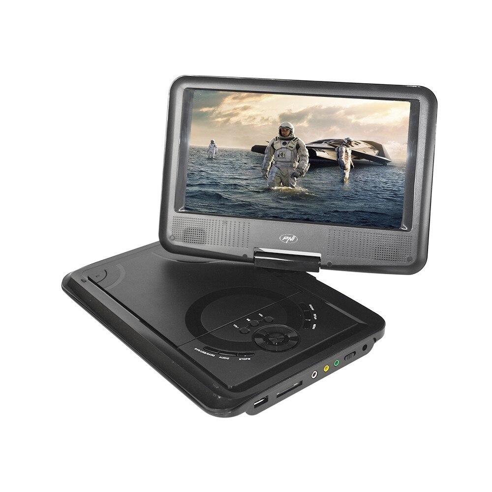 Fotografie DVD player portabil PNI NS989, ecran 9 inch