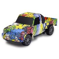 RC terepjáró / távirányítós pickup – exkluzív graffiti mintákkal / 1-es típus