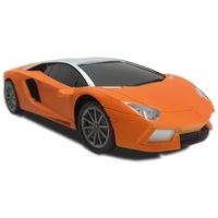 RC versenyautó / távirányítós kisautó – többféle színben / narancssárga