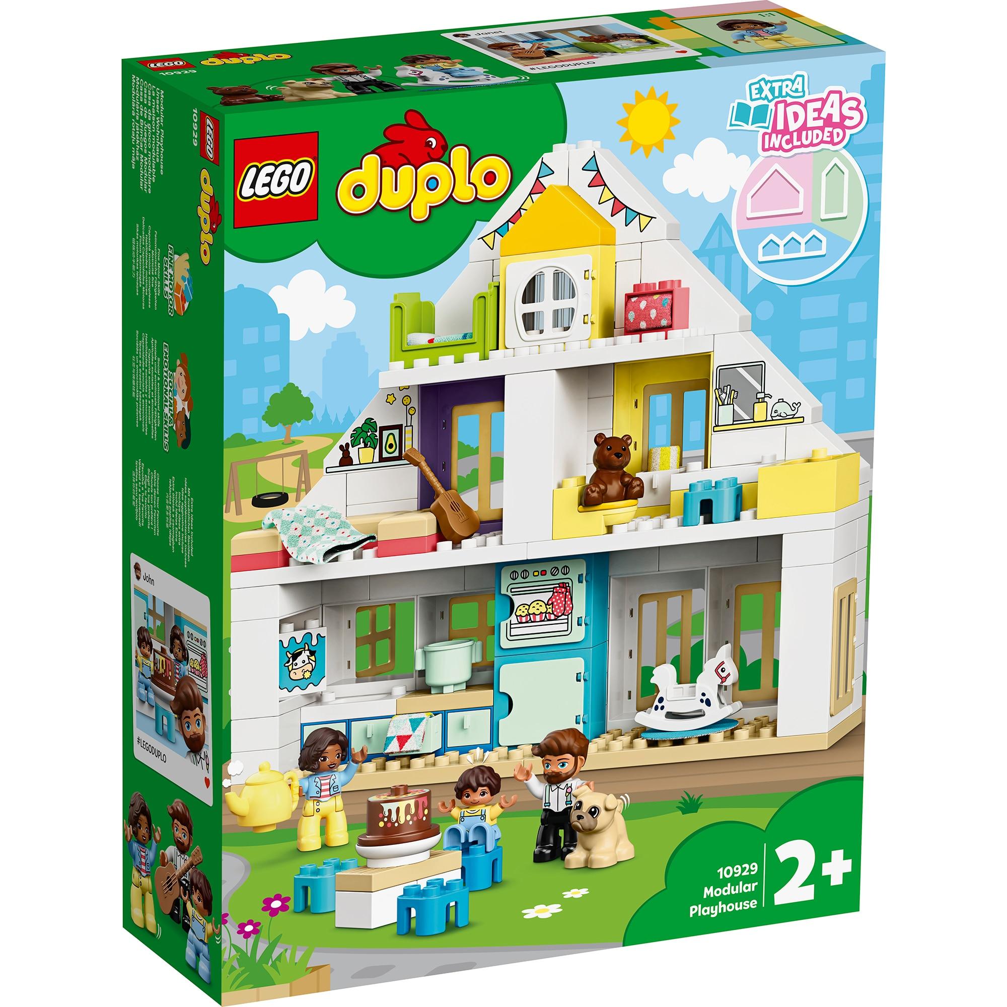 Fotografie LEGO DUPLO - Casa jocurilor 10929, 129 piese