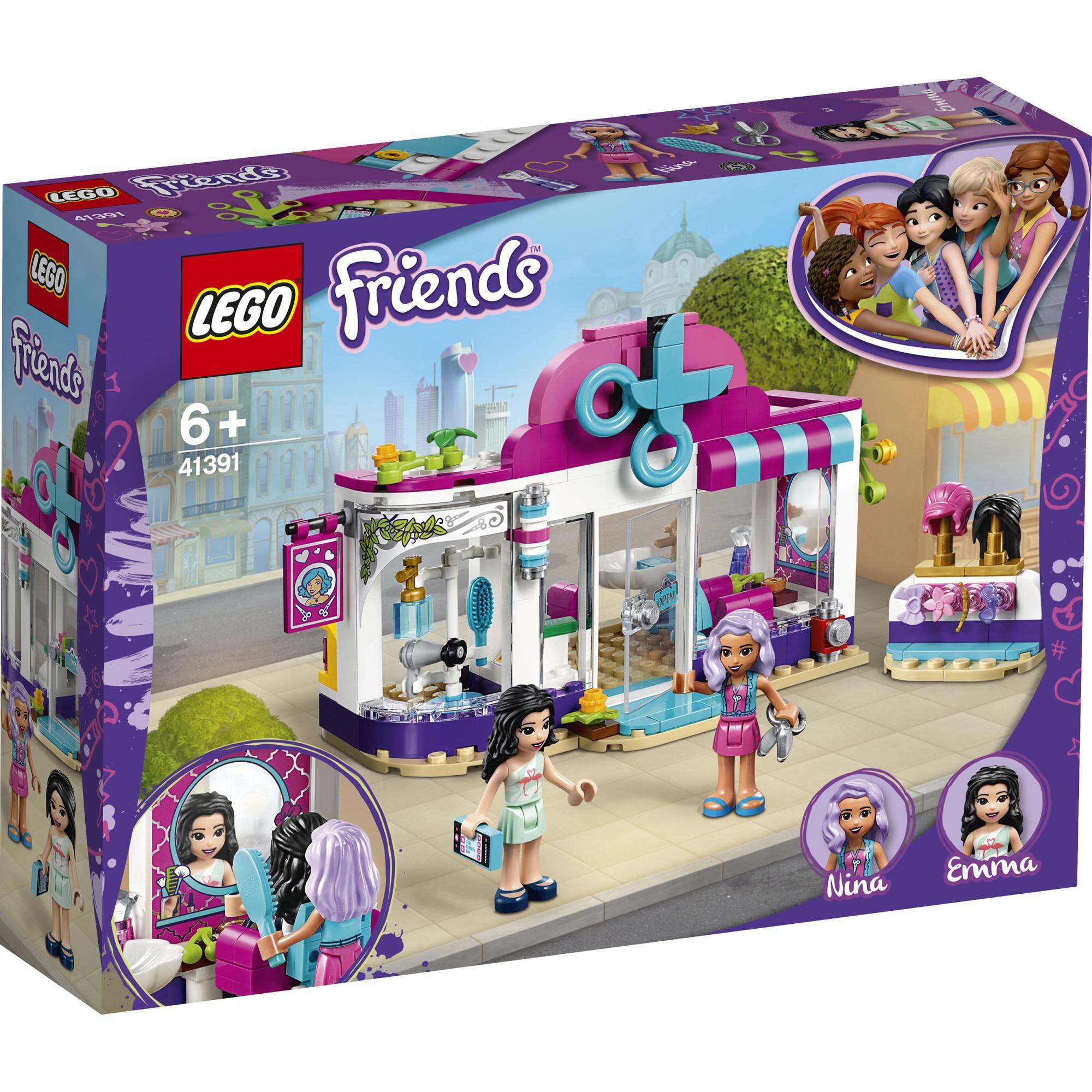 Fotografie LEGO Friends - Salonul de coafura din orasul Heartlake 41391, 235 piese