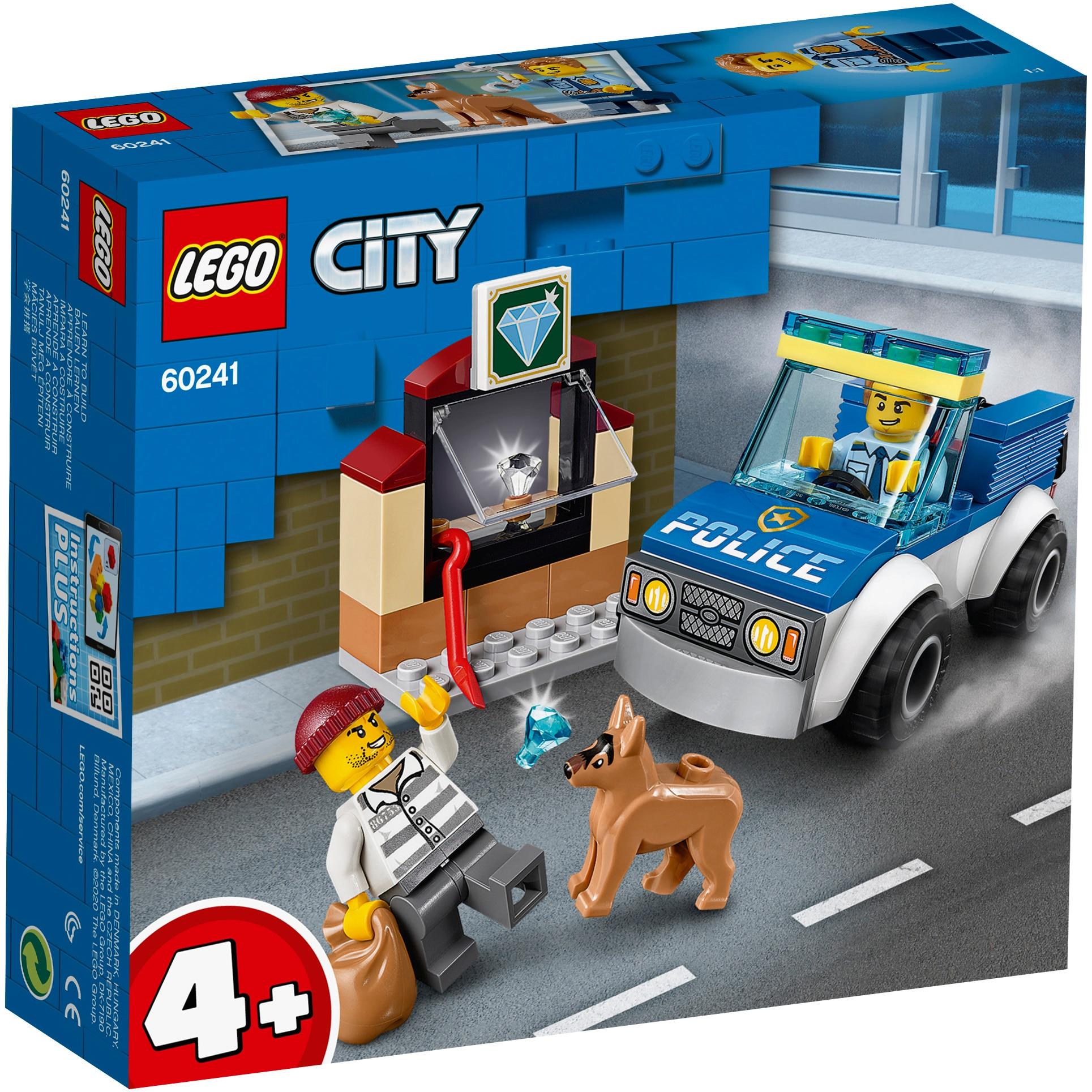 Fotografie LEGO City Police - Unitate de politie canina 60241