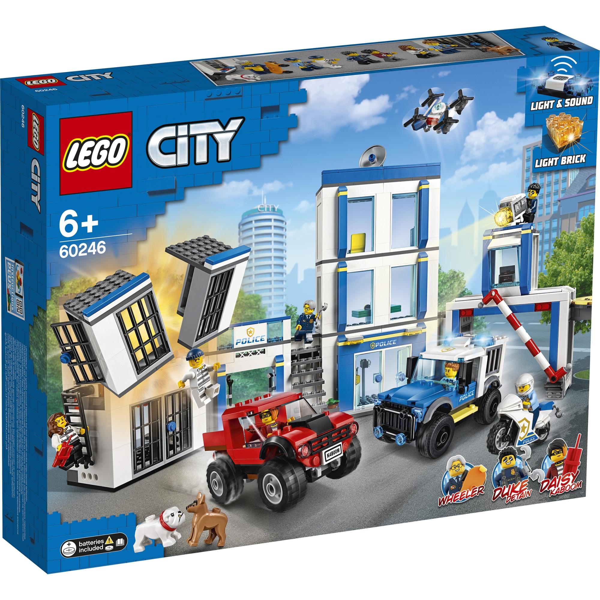Fotografie LEGO City Police - Sectie de politie 60246