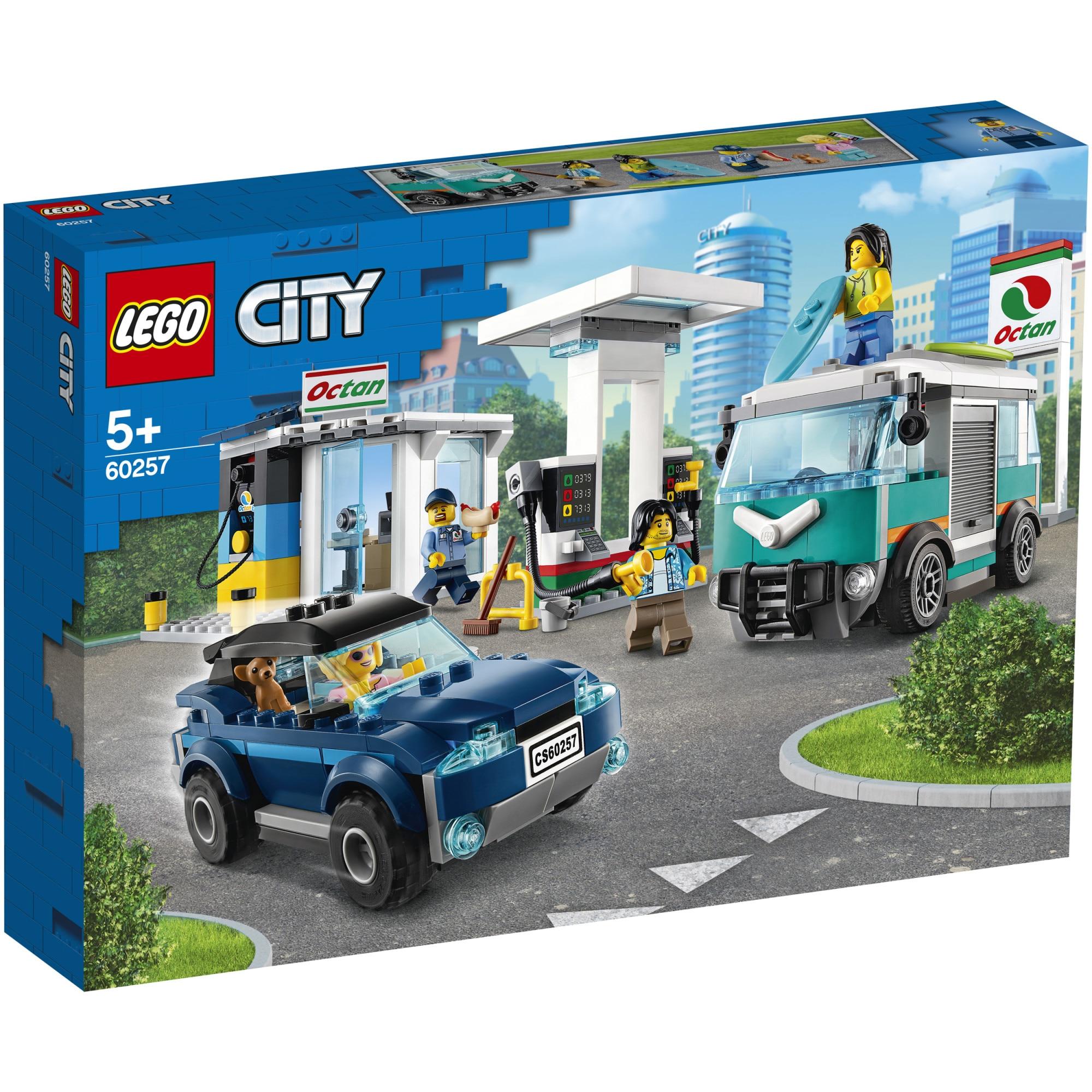 Fotografie LEGO City Nitro Wheels - Statie de service 60257, 354 piese
