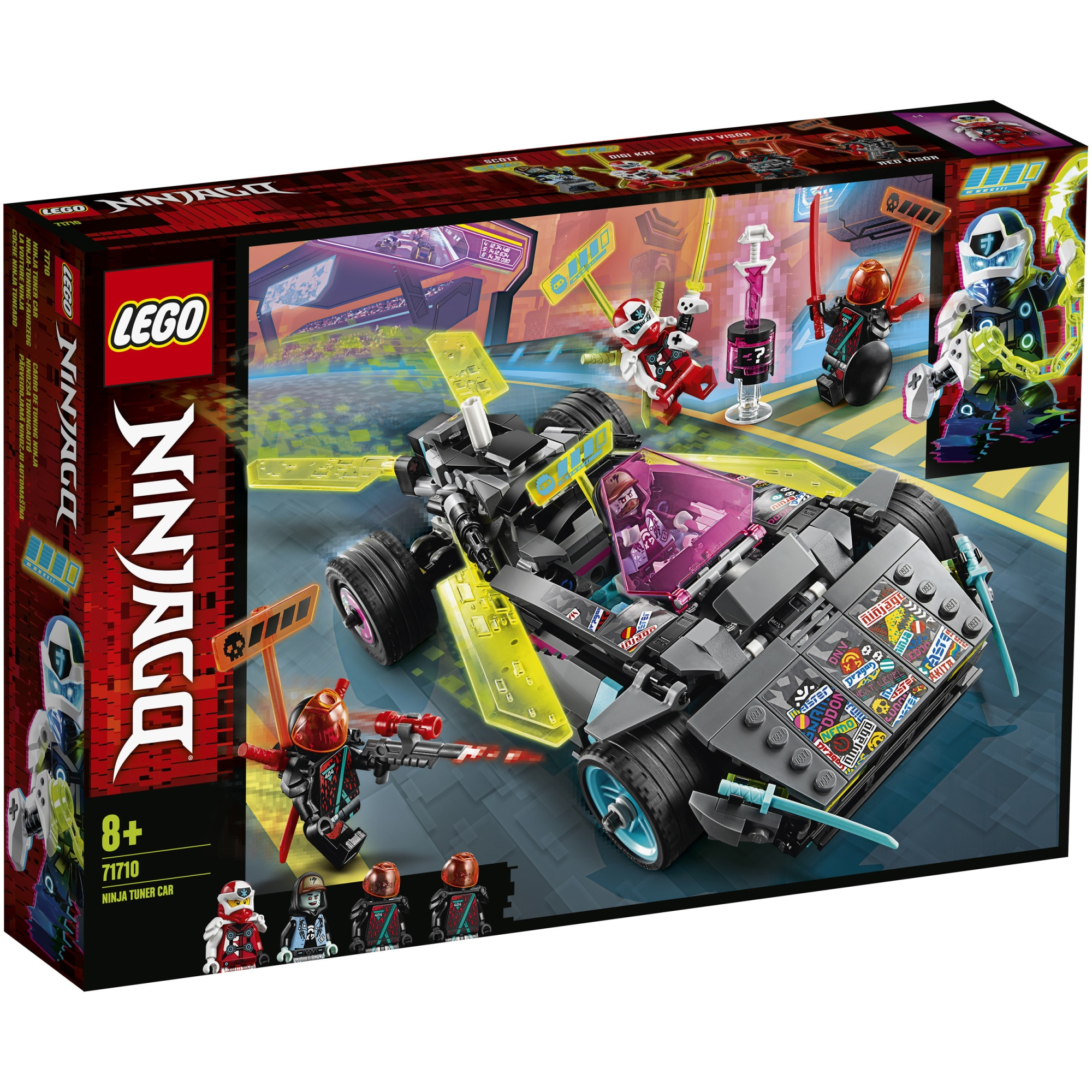 Fotografie LEGO NINJAGO - Bolid ninja 71710, 419 piese