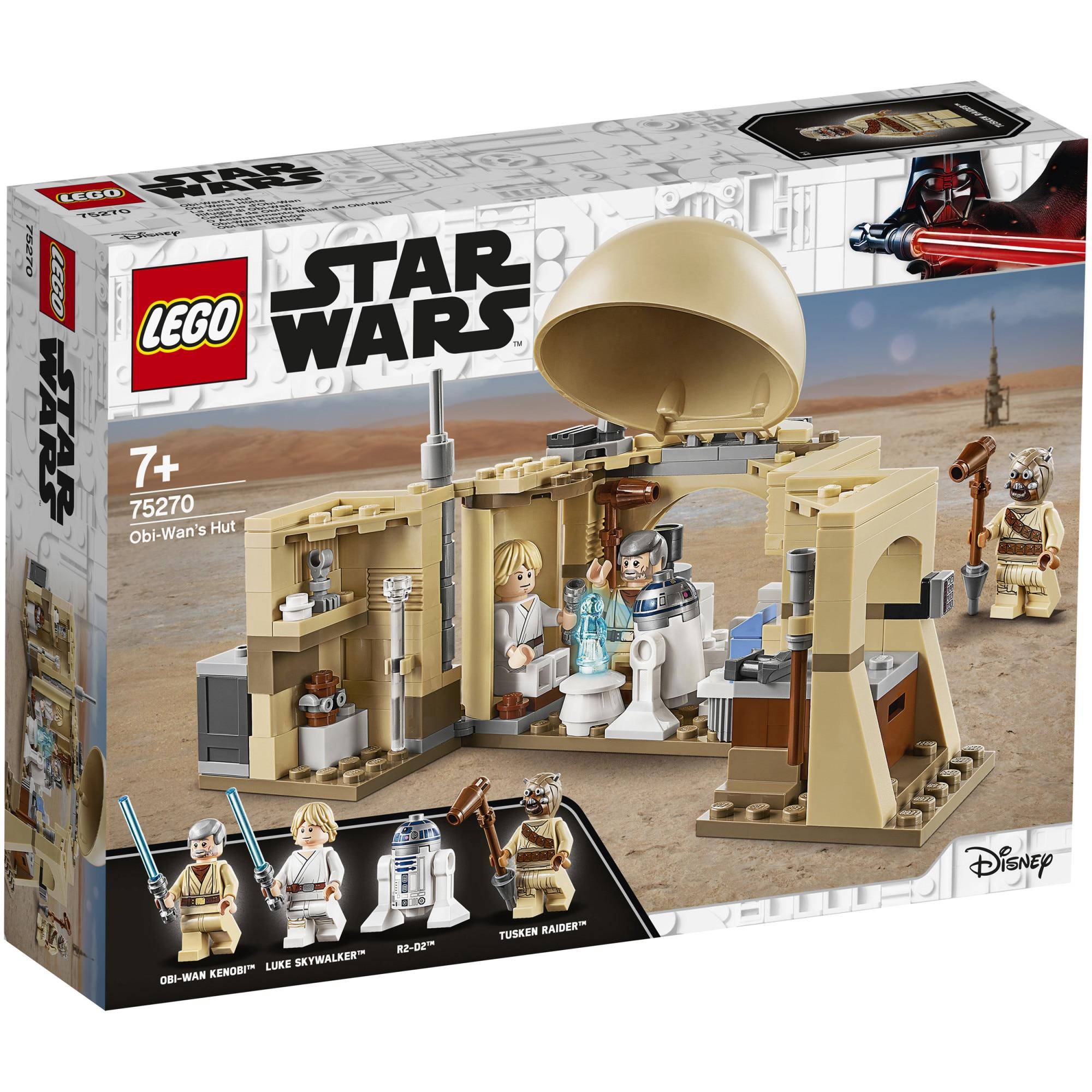 Fotografie LEGO Star Wars - Coliba lui Obi Wan 75270, 200 piese