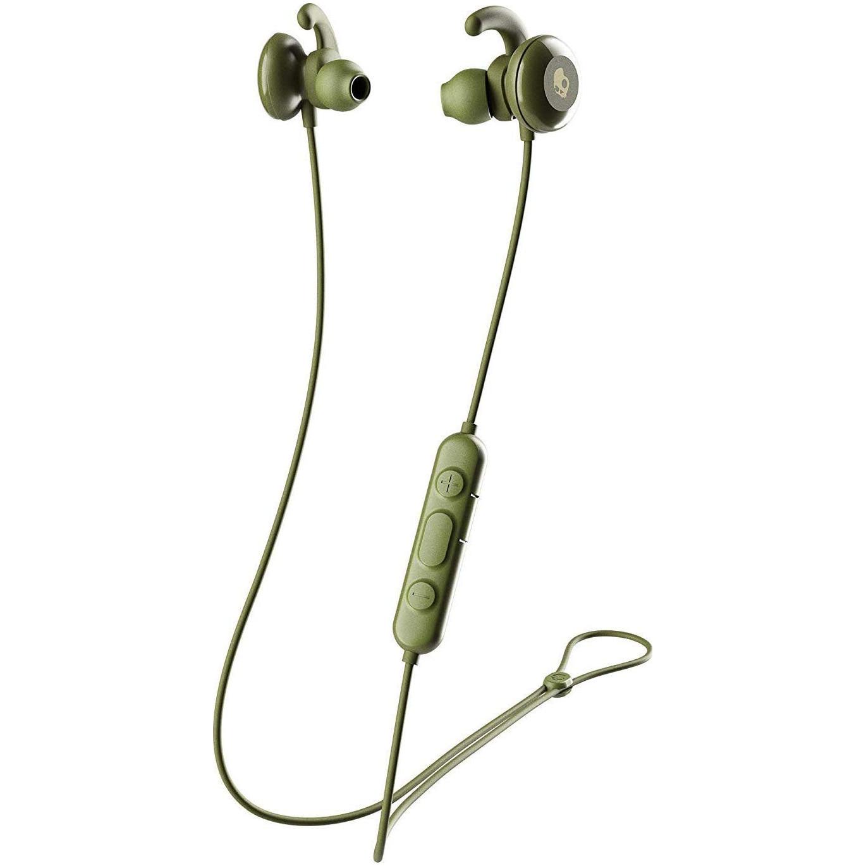 Fotografie Casti Audio Sport In Ear Skullcandy Method Active, Wireless, Bluetooth, Microfon, Autonomie 10 ore, Moss Olive Yellow