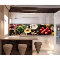 Стикер пано за гръб на кухня - Кухня 4, 250 х 70 см