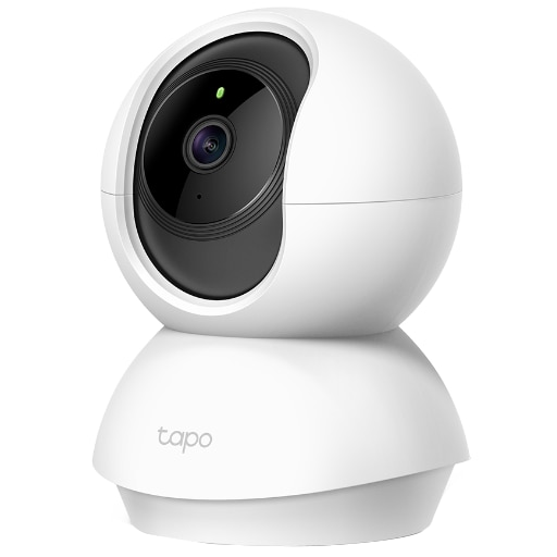 Fotografie Camera de supraveghere Smart TP-Link Tapo C200 cu Pan/Tilt 360 grade, Full HD 1080P, Funcție Baby Monitor Wireless Audio Video, Night Vision, Detectarea miscarilor, Two-Way Audio, Alarma sonora si luminoasa, Control Vocal, IP Wi-Fi, Mod Privacy, Alb