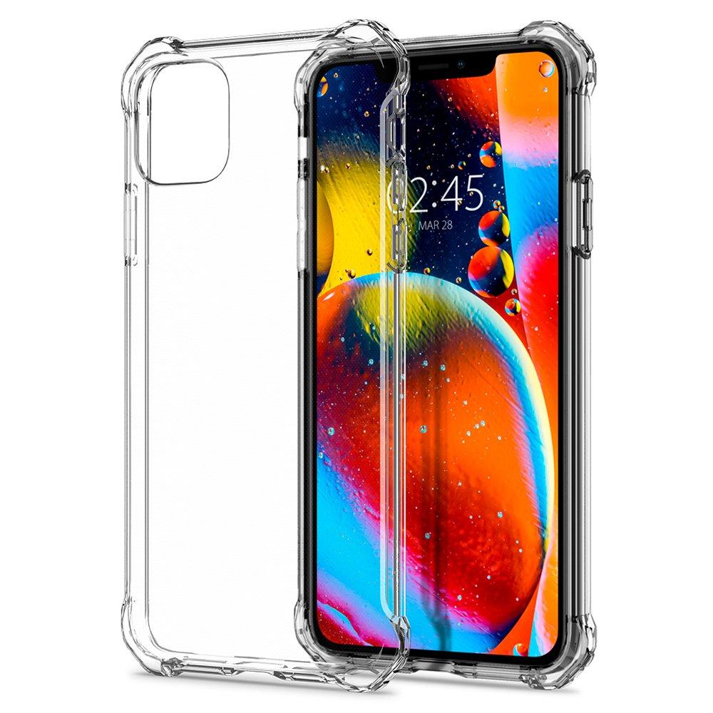Fotografie Carcasa Spigen Rugged Crystal pentru iPhone 11 Pro Max Crystal, antishock, Clear