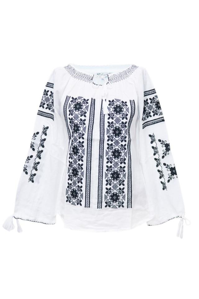 bine out x cumpărați ieftin aspect nou Bluza dama tip ie, brodata traditional, Alb, dae5771, M INTL - eMAG.ro