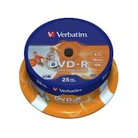 Verbatim DVD-R, AZO, 4.7GB, 16X, Nyomtatható