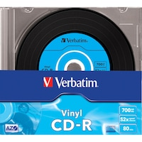 Verbatim CD-R, AZO, 700MB, 52X
