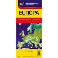 Európa autótérkép