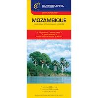 Mozambik, Szváziföld térkép