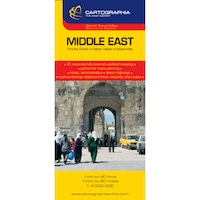 Közel-Kelet térkép