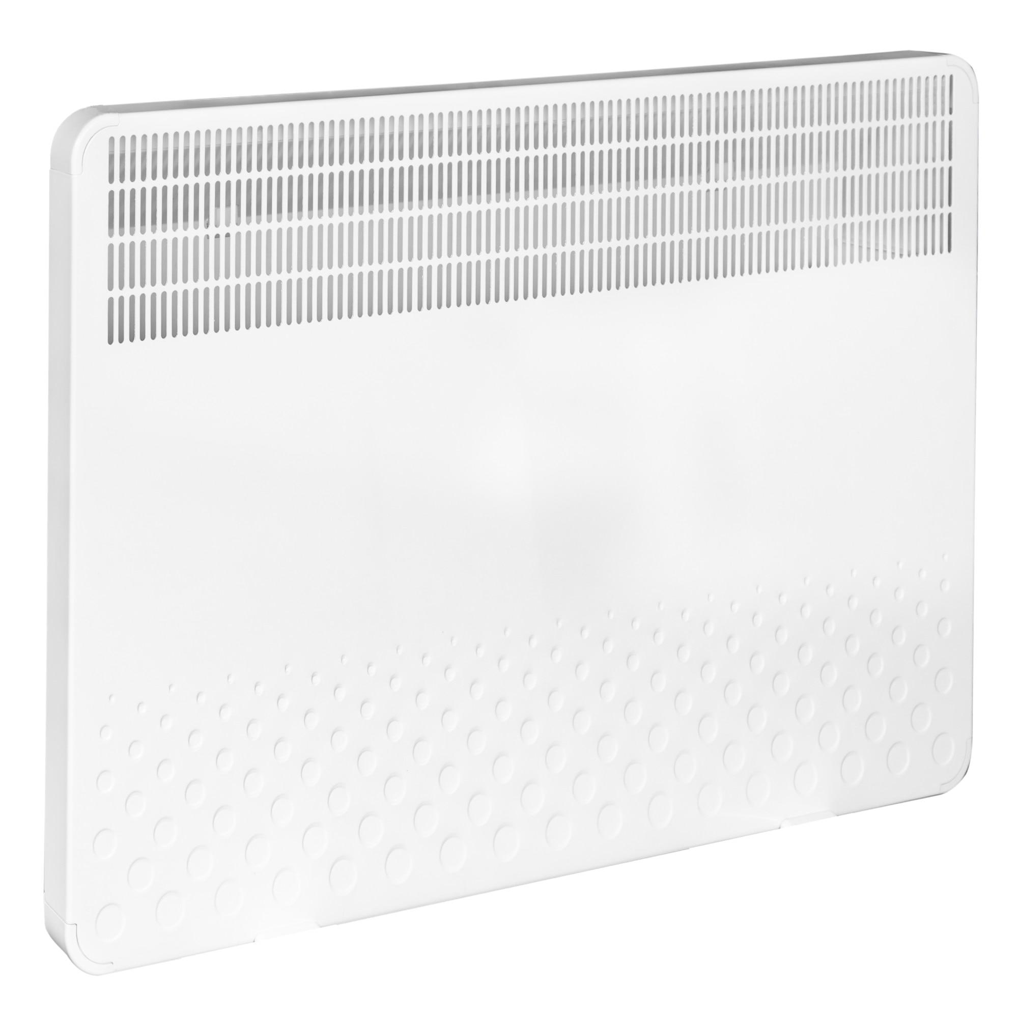 Fotografie Convector digital electric de perete si pardoseala Solaris KIP 1000 W, control electronic, Termostat de siguranta, termostat reglabil, IP 24, ERP 2018, pana la 12 m, display digital