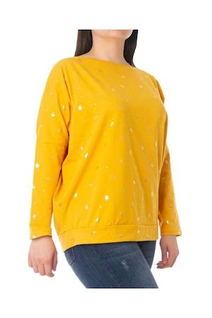 Дамска блуза ZD Fashion в жълт цвят, 3XL